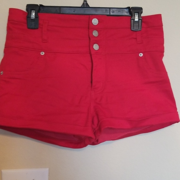 Mossimo Supply Co. Pants - Red high waist shorts